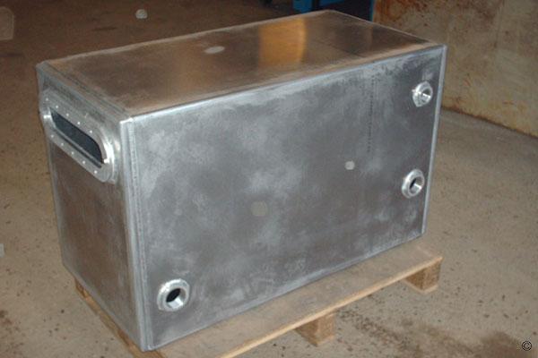 Cuve aluminium