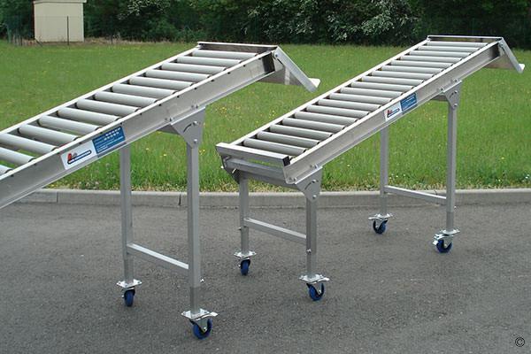 Convoyeur simple à rouleaux