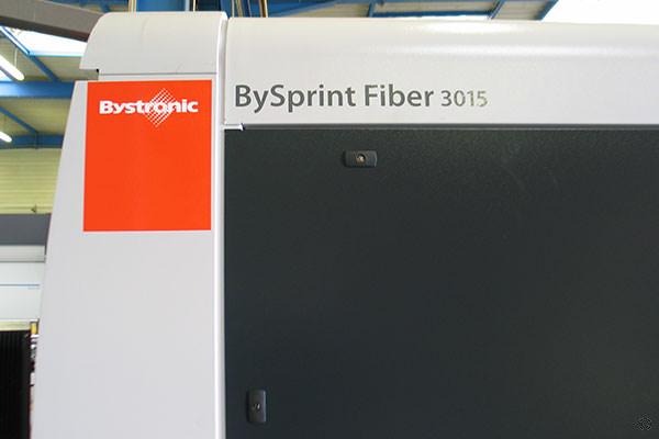Découpe laser par fibre optique par Bystronic