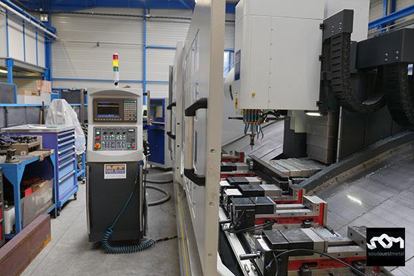 Usinage grande capacité par CNC 6500 H
