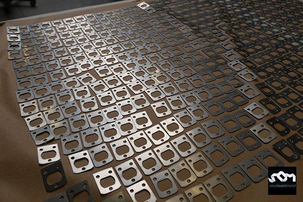Pièces unitaires métalliques